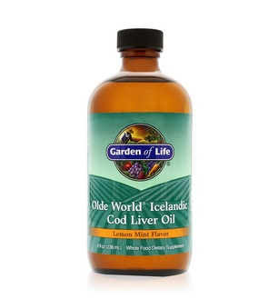cod liver oil bottle