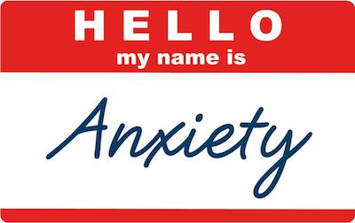 anxiety attacks name tag