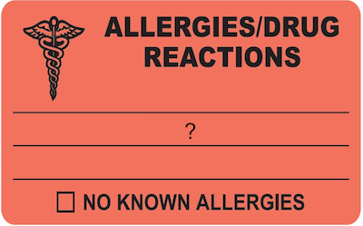 Chemical And Drug Allergies