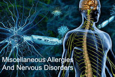 Nervous Disorders Allergy Caused