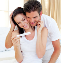 pregnancy symptoms test couple