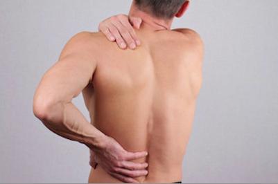aching back colitis pain
